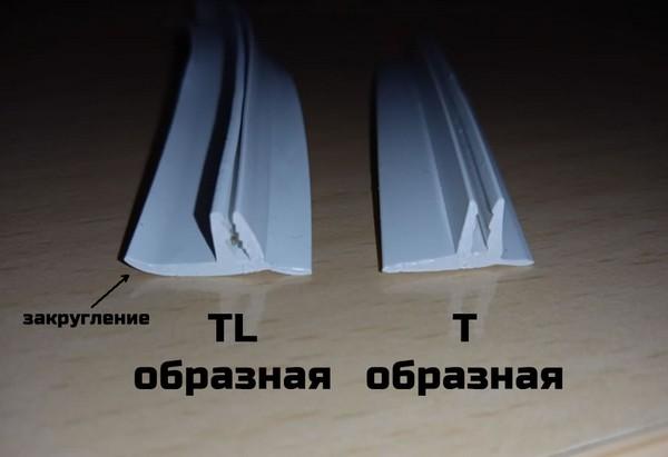 «T» и «TL» - образные маскировочные ленты