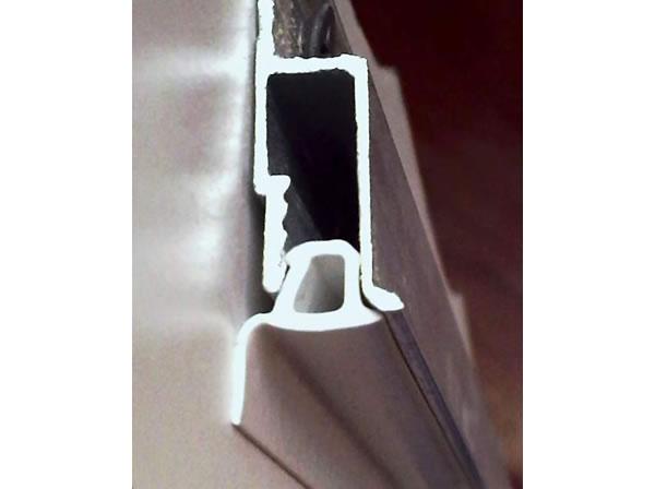«F» - образная маскировочная лента на потолке
