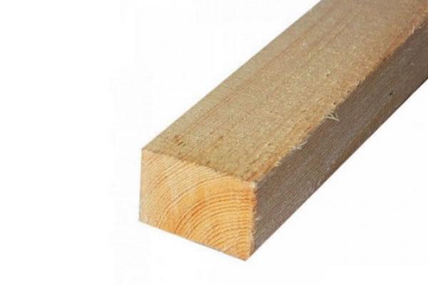 Деревянный брус для монтажа скрытых карнизов, световых линий и т.д.